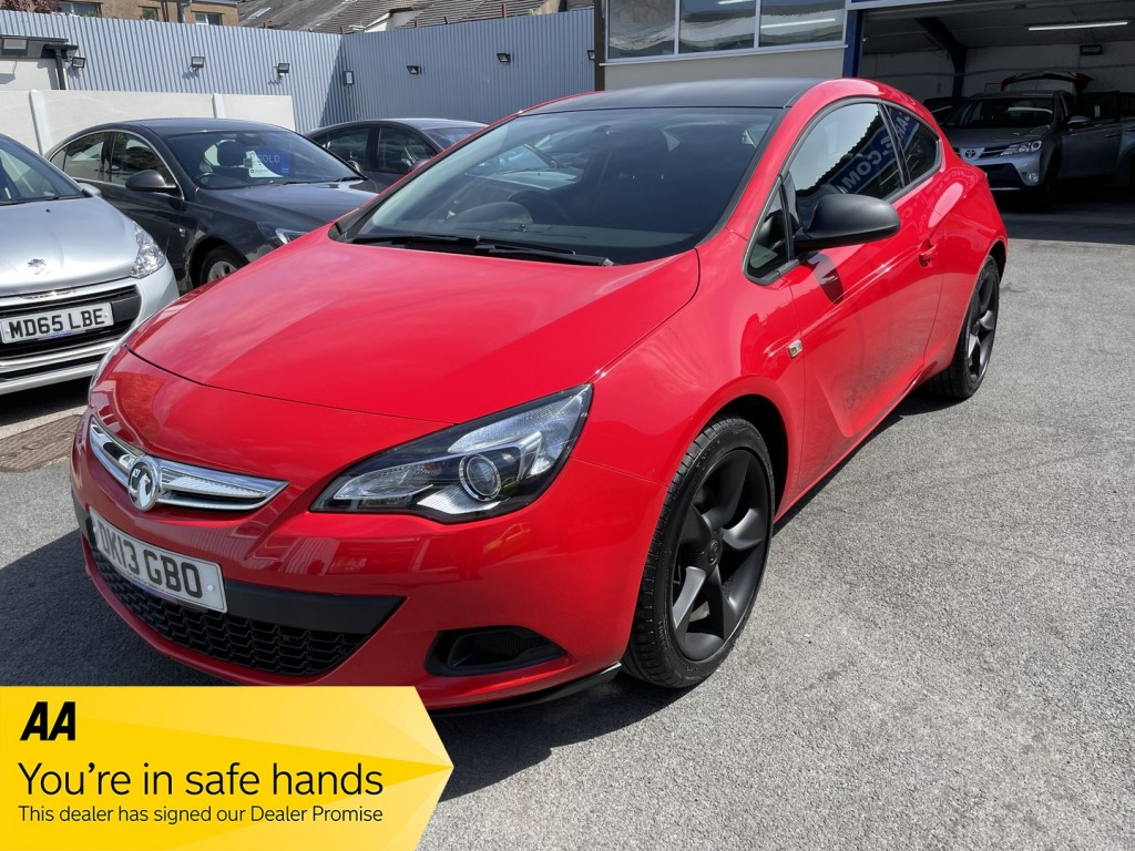 VAUXHALL ASTRA GTC 1.4 SPORT S/S 3DR