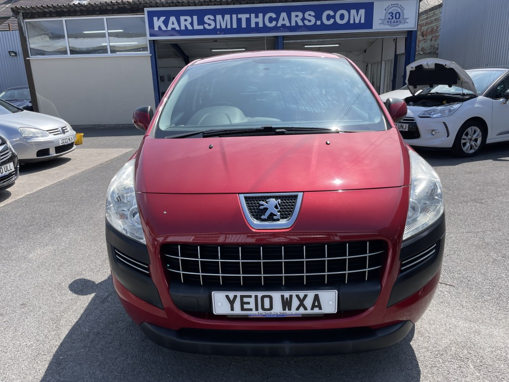 PEUGEOT 3008 1.6 ACTIVE HDI 5DR SEMI AUTOMATIC