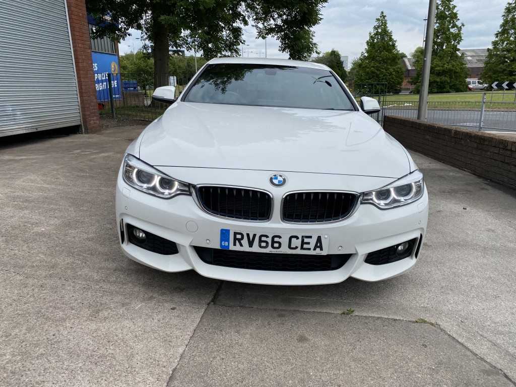 BMW 4 SERIES 2.0 420D XDRIVE M SPORT GRAN COUPE 4DR