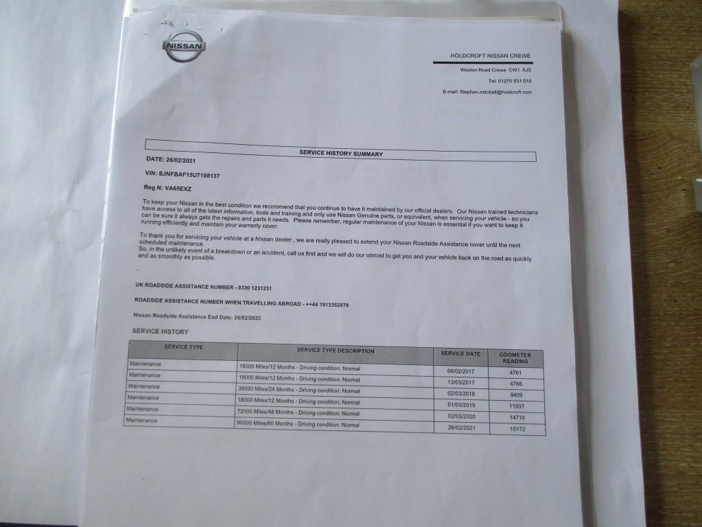 NISSAN JUKE 1.6 TEKNA XTRONIC 5DR CVT