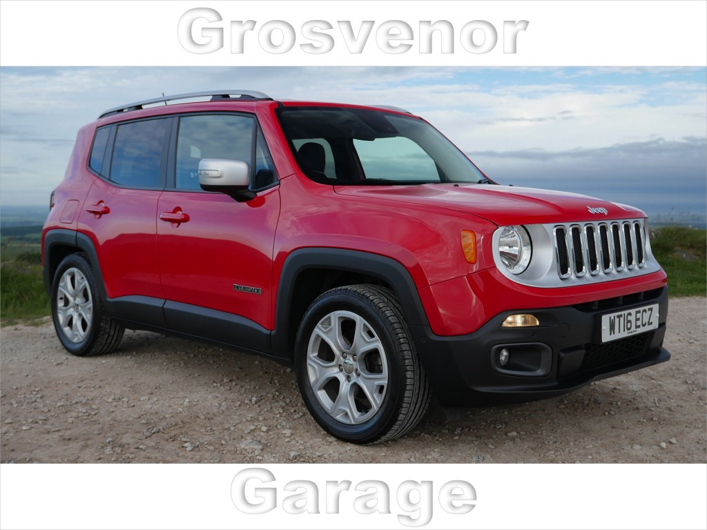 JEEP RENEGADE 1.6 M-JET LIMITED 5DR