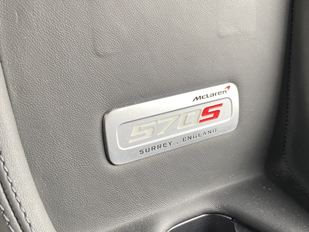 MCLAREN 570s 3.8 V8 SSG 2DR SEMI AUTOMATIC