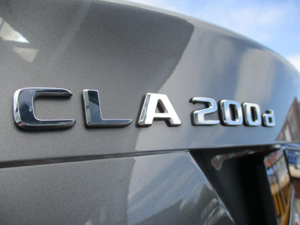 MERCEDES-BENZ CLA CLASS 2.1 CLA 200 D AMG LINE 4DR