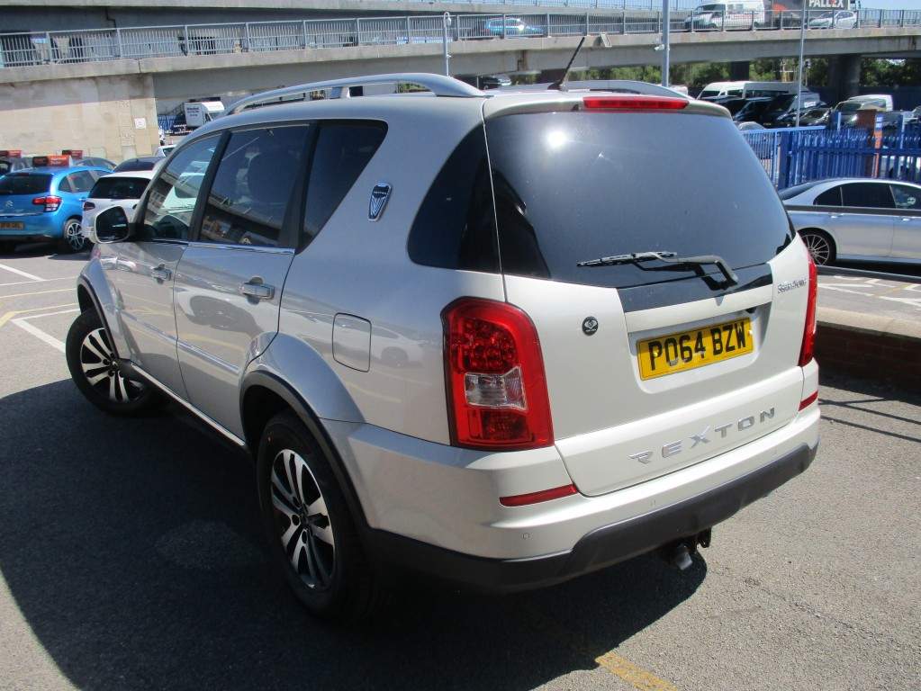 SSANGYONG REXTON 60TH ANNIVERSARY 2.0 60TH ANNIVERSARY 5DR