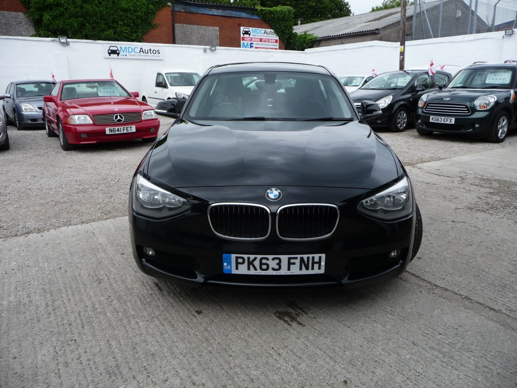 BMW 1 SERIES 1.6 116D EFFICIENTDYNAMICS BUSINESS 5DR