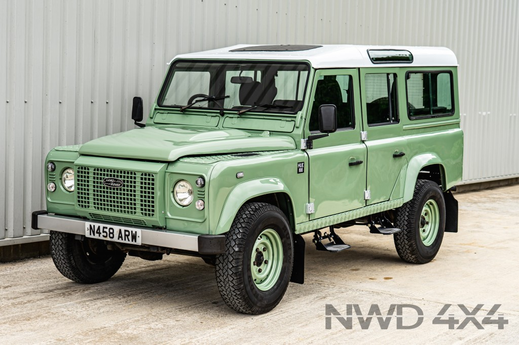 Used LAND ROVER DEFENDER 110 COUNTY SW TDI 2.5 110 COUNTY SW 12S TDI 5DR Heritage Spec  in Lancashire