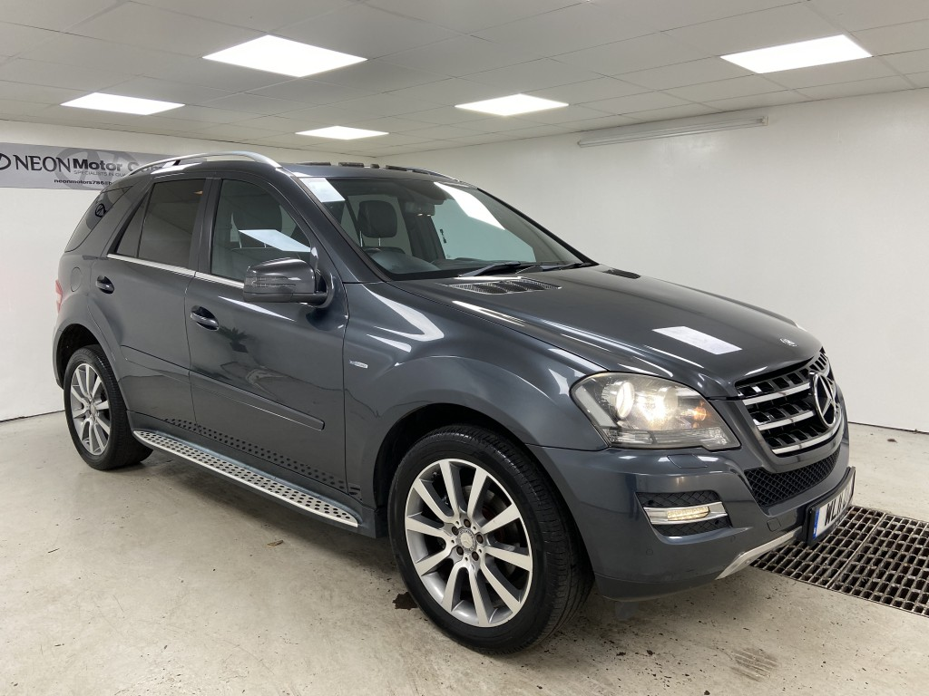 Used MERCEDES-BENZ M CLASS 3.0 ML350 CDI BLUEEFFICIENCY GRAND EDITION 5DR AUTOMATIC in West Yorkshire