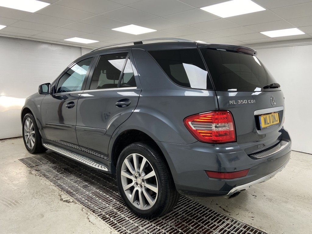 MERCEDES-BENZ M CLASS 3.0 ML350 CDI BLUEEFFICIENCY GRAND EDITION 5DR AUTOMATIC