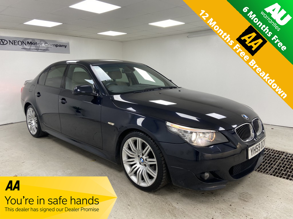 Used BMW 5 SERIES 3.0 525D M SPORT BUSINESS EDITION 4DR AUTOMATIC in West Yorkshire