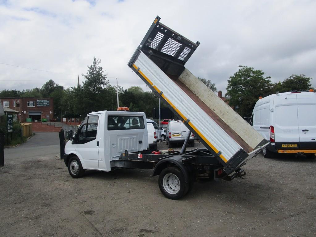 FORD TRANSIT TIPPER 2.4 T350 RWD - LONG MOT - STUNNING - NO VAT