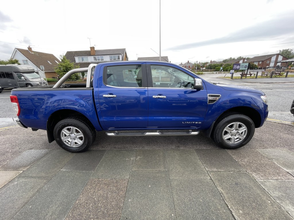FORD RANGER 2.2 LIMITED 4X4 DCB TDCI 4DR AUTOMATIC