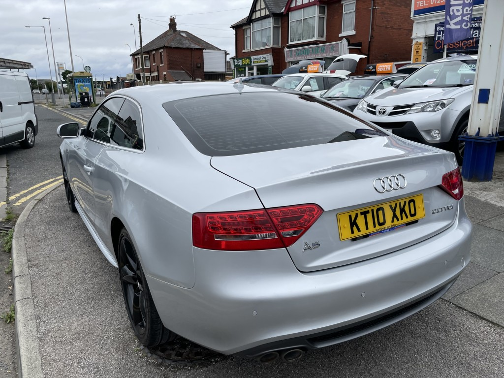 AUDI A5 2.0 TDI S LINE SPECIAL EDITION 2DR