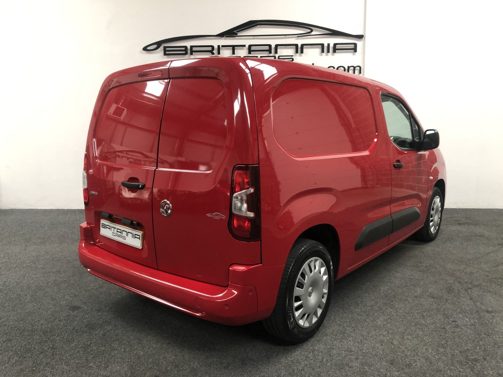 VAUXHALL COMBO CARGO 1.6 L1H1 2000 SPORTIVE S/S