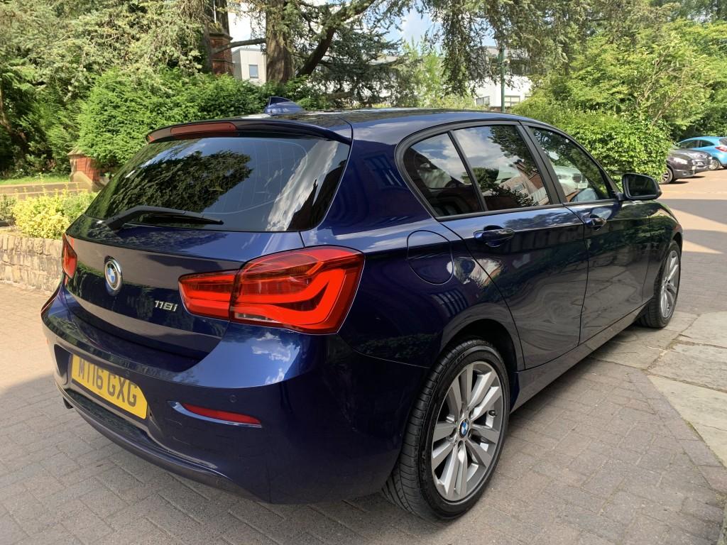 BMW 1 SERIES 1.5 118I SPORT 5DR