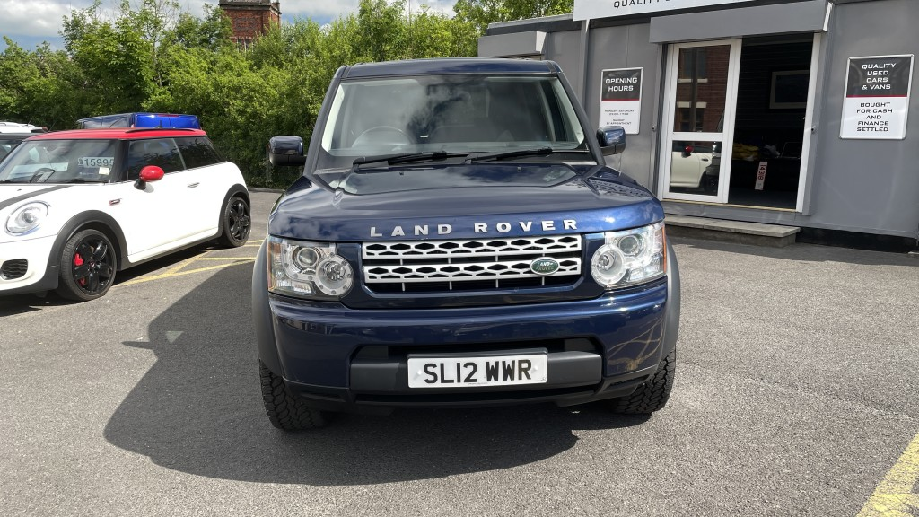 LAND ROVER DISCOVERY 3.0 4 SDV6 COMMERCIAL AUTOMATIC