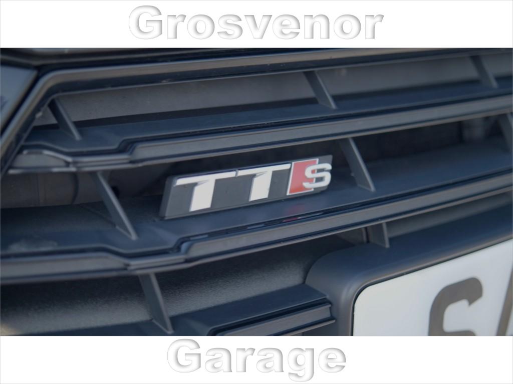 AUDI TT 2.0 TTS TFSI QUATTRO S LINE BLACK EDITION 2DR SEMI AUTOMATIC