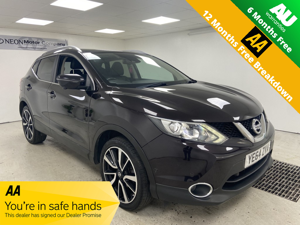 Used NISSAN QASHQAI 1.5 DCI TEKNA 5DR in West Yorkshire