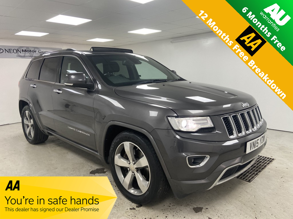 Used JEEP GRAND CHEROKEE 3.0 V6 CRD OVERLAND 5DR AUTOMATIC in West Yorkshire