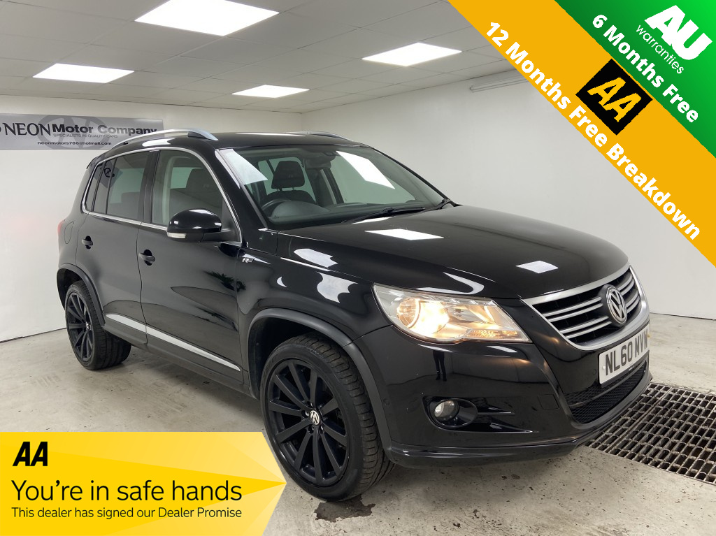 Used VOLKSWAGEN TIGUAN 2.0 R LINE TDI 4MOTION DSG 5DR SEMI AUTOMATIC in West Yorkshire