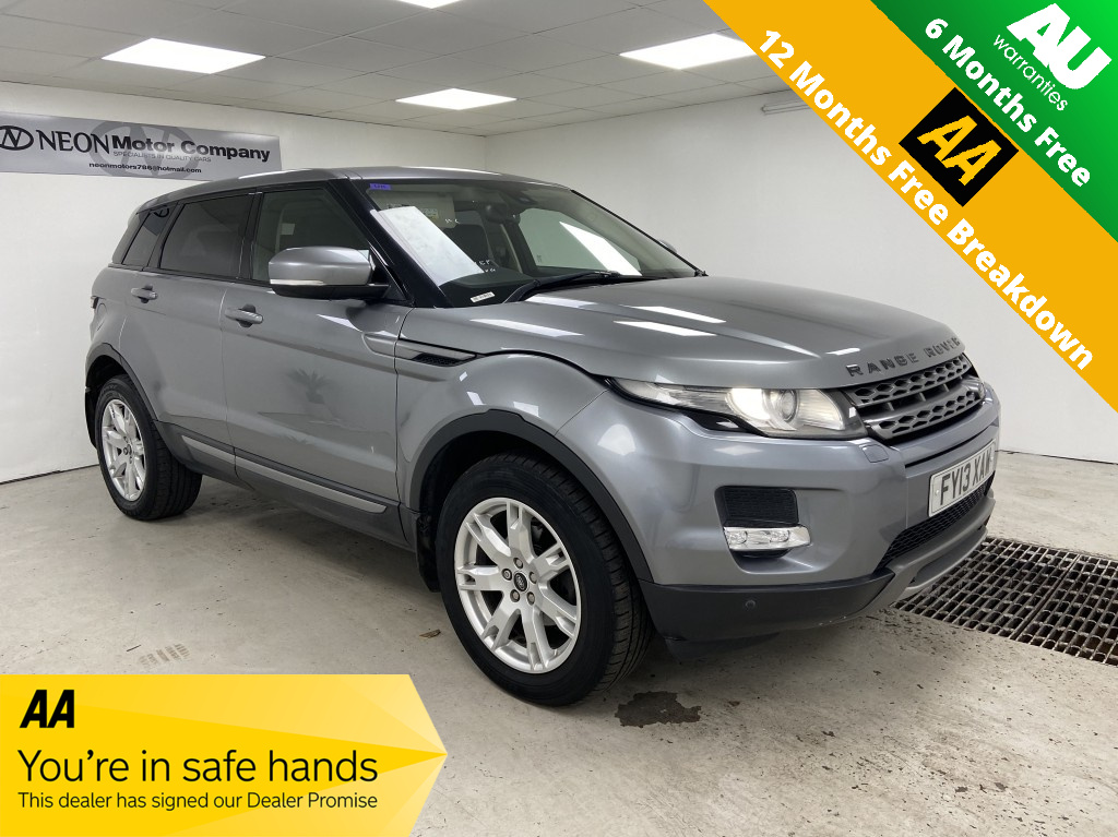 Used LAND ROVER RANGE ROVER EVOQUE 2.2 SD4 PURE TECH 5DR in West Yorkshire