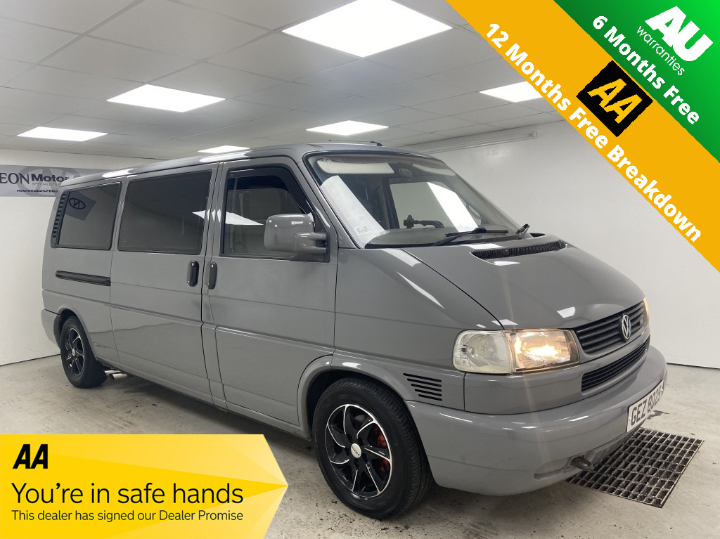 Used VOLKSWAGEN CARAVELLE 2.5 EXECUTIVE TDI 5 DR MANUAL in West Yorkshire