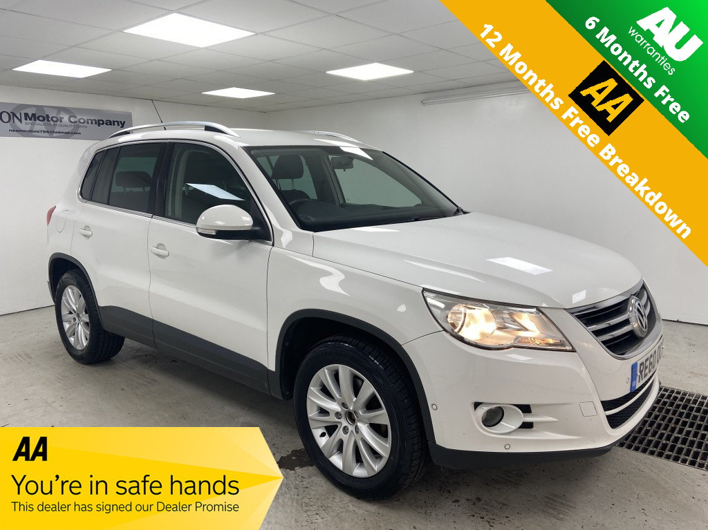 Used VOLKSWAGEN TIGUAN 2.0 MATCH TDI 4MOTION DSG 5DR SEMI AUTOMATIC in West Yorkshire