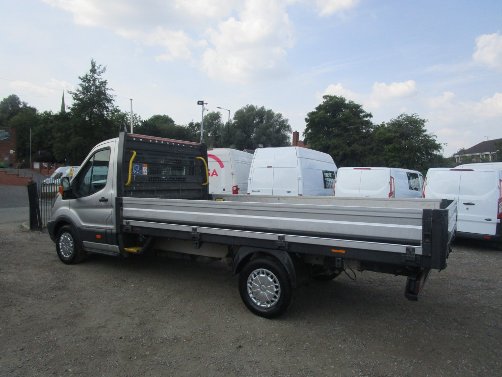 FORD TRANSIT DROPSIDE LWB 2.0 350 - 14 FT BED - EURO 6 - FSH