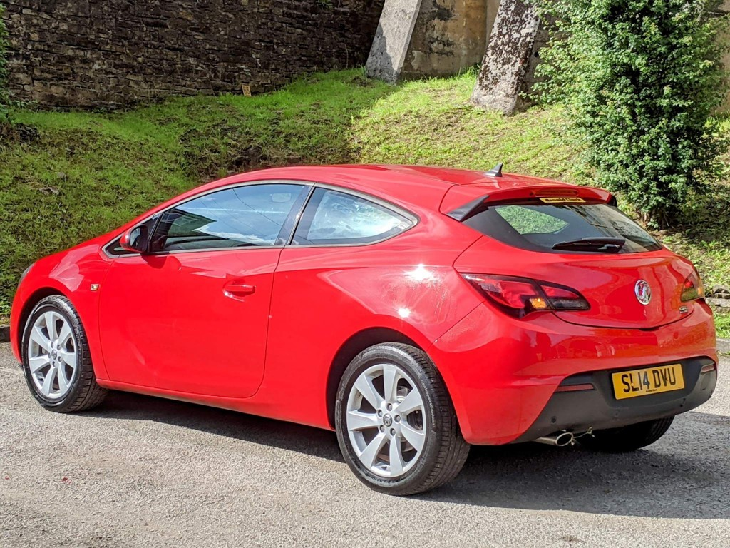 VAUXHALL ASTRA 1.4 SPORT 3DR AUTOMATIC