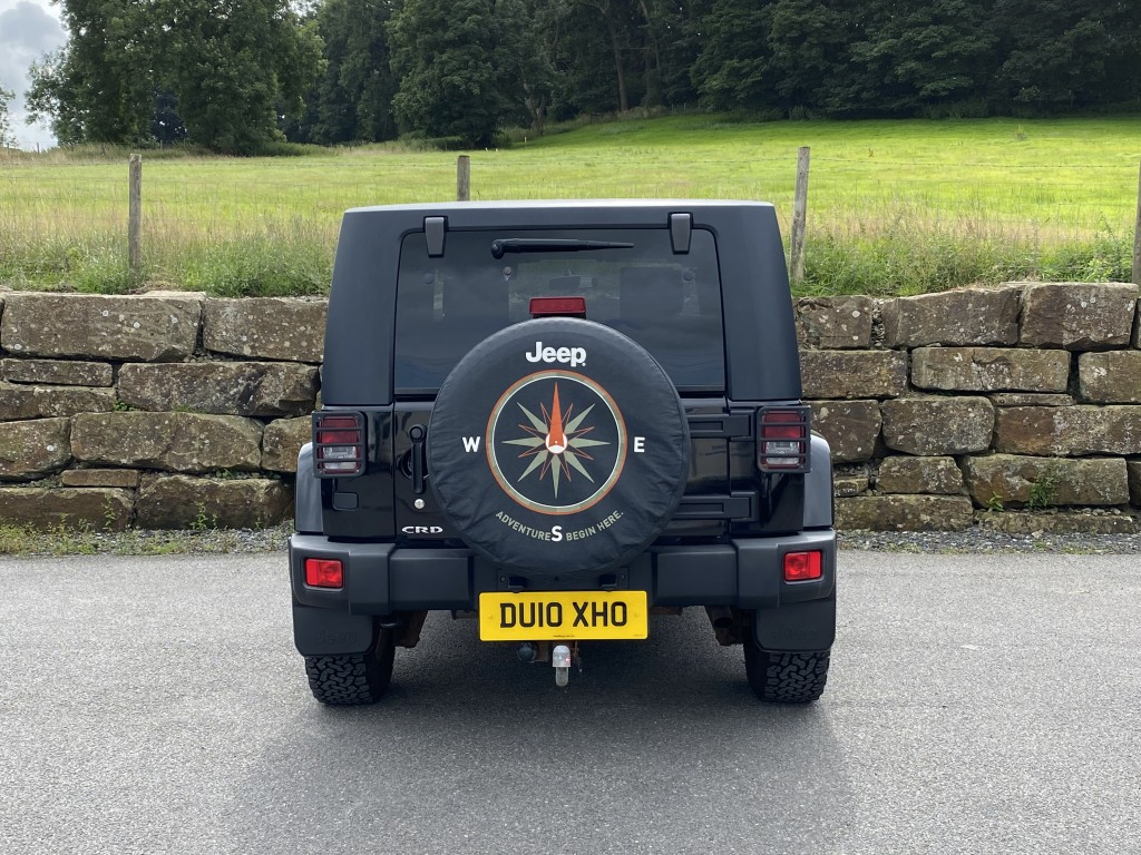JEEP WRANGLER 2.8 CRD ULTIMATE 2DR AUTOMATIC