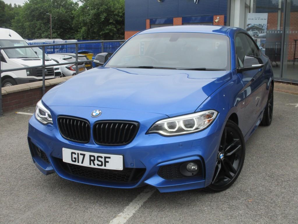BMW 2 SERIES 2.0 218D M SPORT 2DR AUTOMATIC