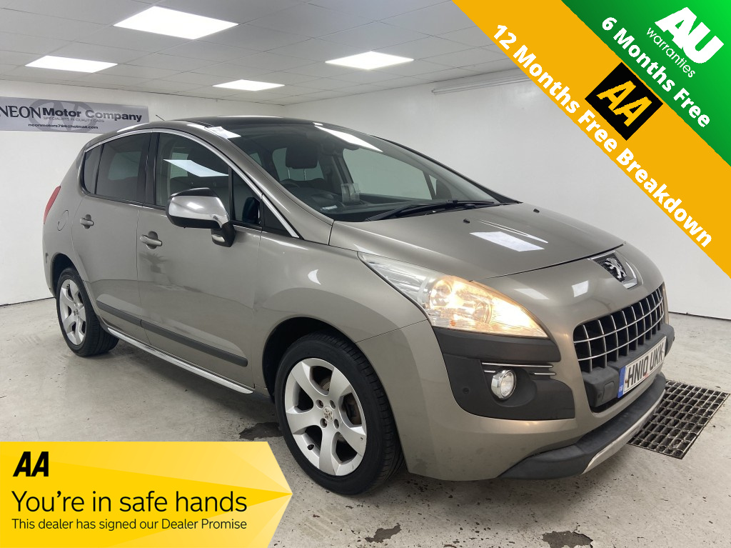 Used PEUGEOT 3008 1.6 EXCLUSIVE HDI 5DR SEMI AUTOMATIC in West Yorkshire