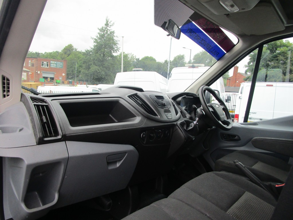 FORD TRANSIT TIPPER CREW CAB **EURO 6** T350 - 61,000 MILES