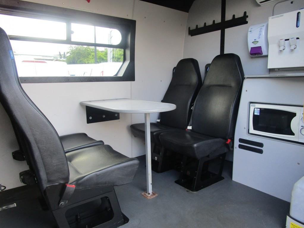 VAUXHALL MOVANO WELFARE/MESS VAN L3 LWB F3500 2.3 CDTI **WITH  TOILET** 32,000 MILES - FSH