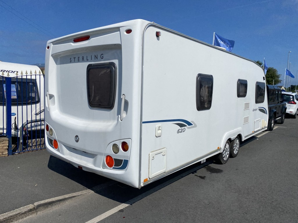 STERLING EUROPA 620 4 Berth Fixed Bed end washroom