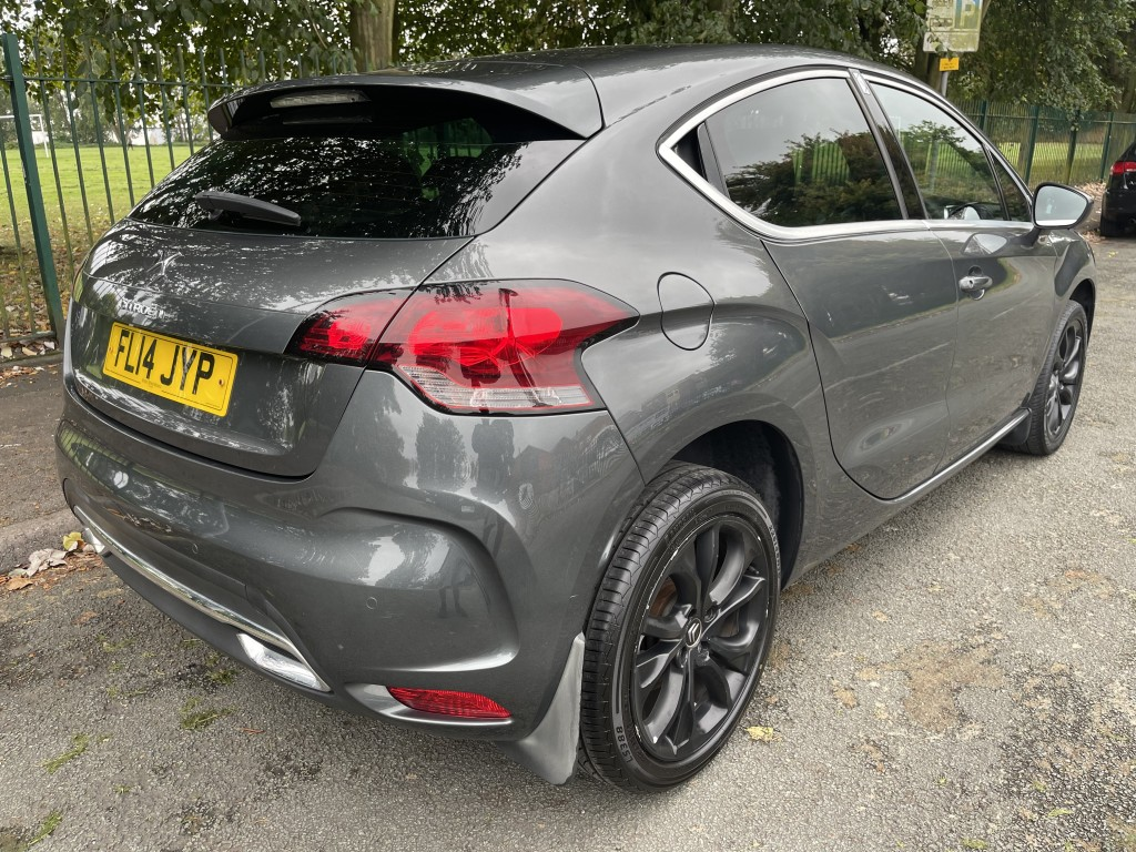 CITROEN DS4 1.6 E-HDI DSTYLE AIRDREAM 5DR AUTOMATIC