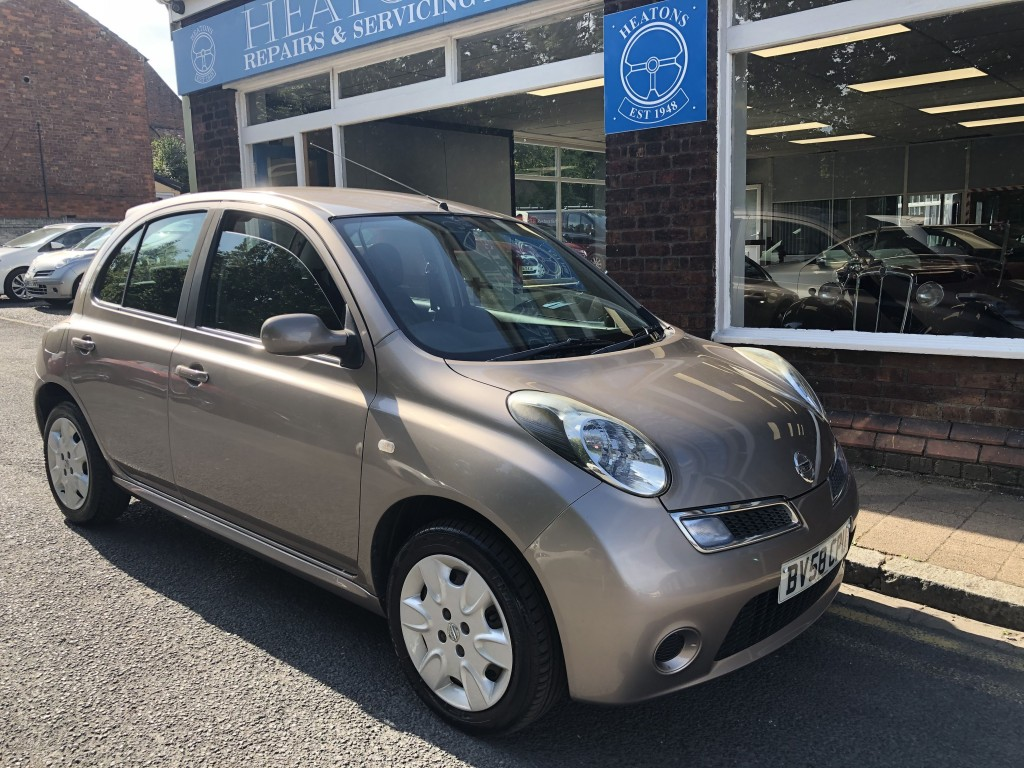 NISSAN MICRA 1.2 ACENTA 5DR AUTOMATIC
