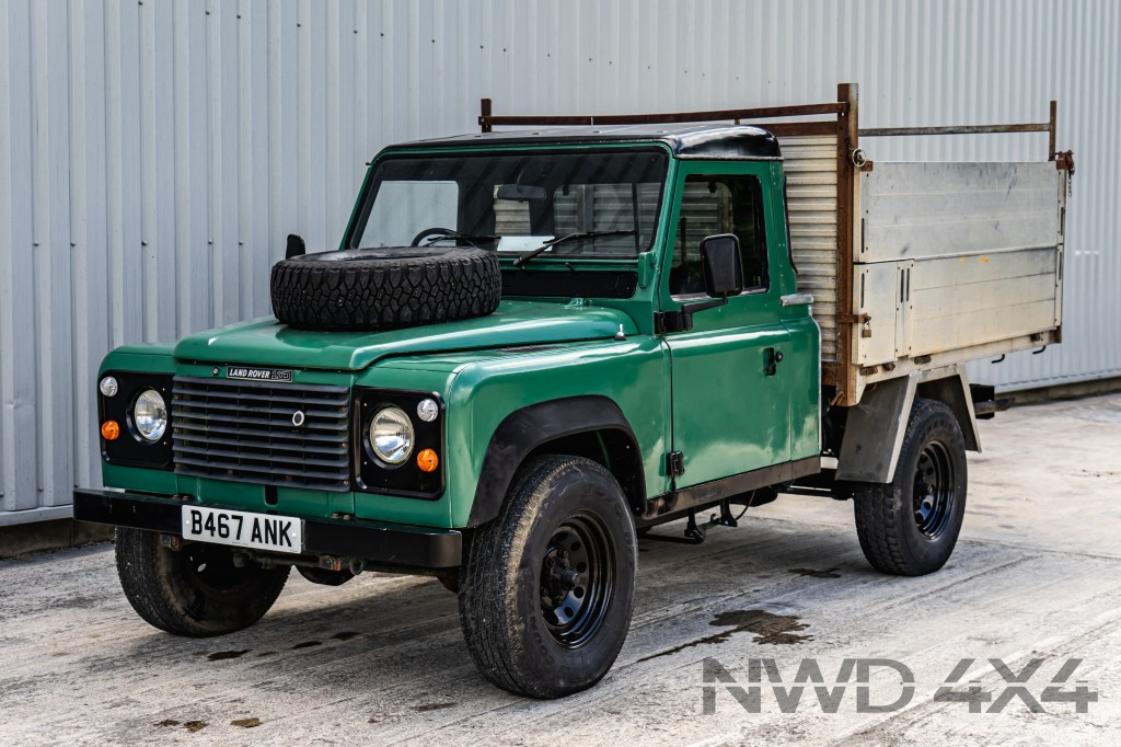 Used LAND ROVER DEFENDER 110 300 TDi  TIPPER BODY  in Lancashire