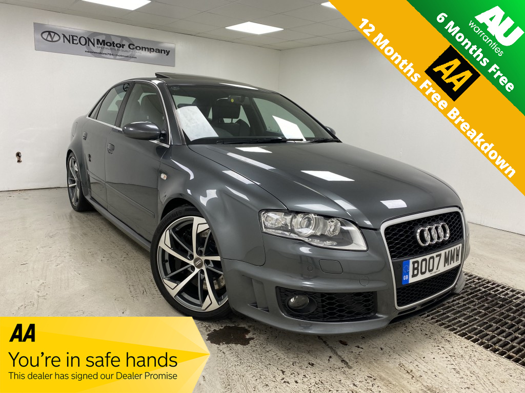 Used AUDI RS4 4.2 RS4 QUATTRO 4DR in West Yorkshire