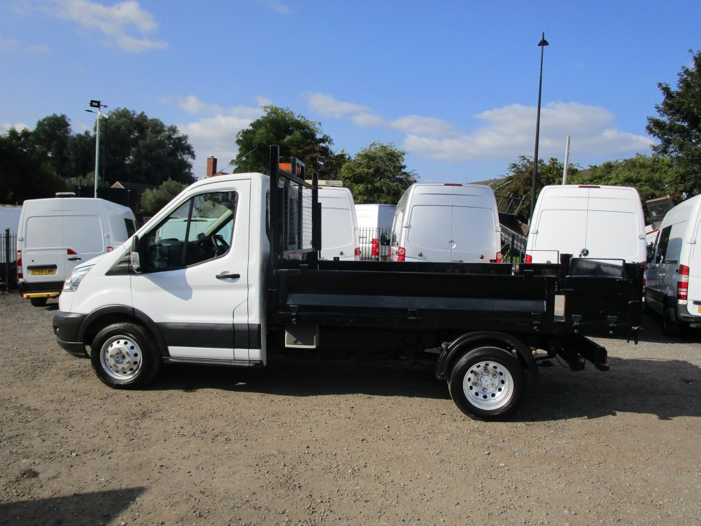 FORD TRANSIT TIPPER 125 PS T350 RWD - JUST BEEN SERVICED - FSH