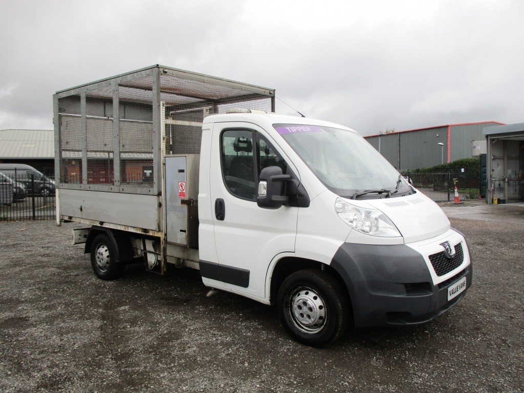 PEUGEOT BOXER CAGED TIPPER 2.2 HDI 335 - JUST BEEN SERVICED - FSH