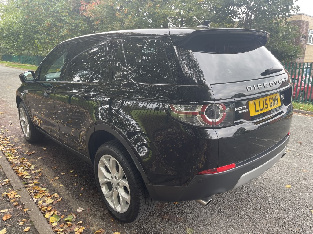 LAND ROVER DISCOVERY SPORT 2.2 SD4 HSE 5DR AUTOMATIC
