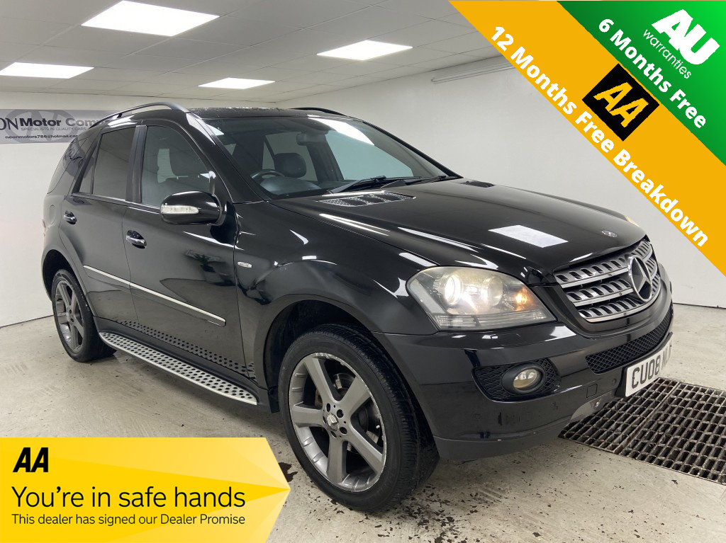 MERCEDES-BENZ M CLASS 3.0 ML 320 CDI EDITION 10 5DR AUTOMATIC
