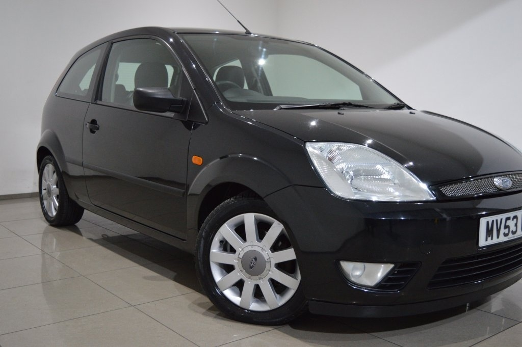 FORD FIESTA 1.4 Black Limited Edition 3dr