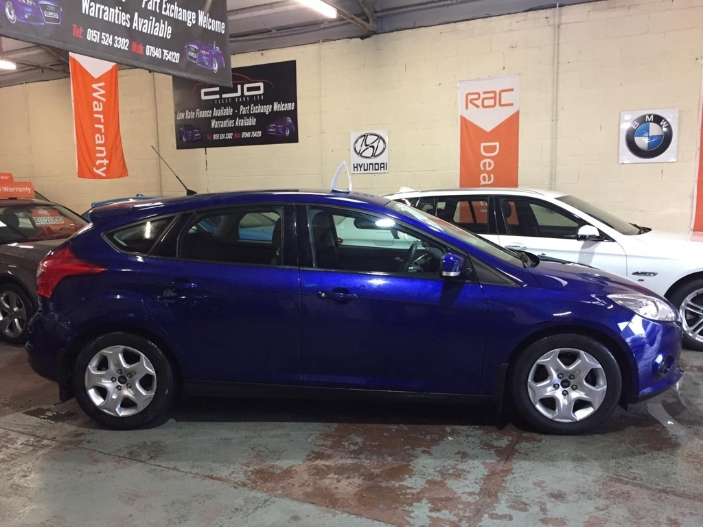 FORD FOCUS 1.6 TDCi Style Hatchback 5dr Diesel Manual (s/s) (109 g/km, 94 bhp)