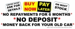 Buy Now Pay Later Now Available On Most Used Vehicles