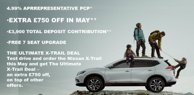 THE ULTIMATE X-TRAIL DEAL