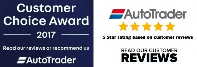CHECK OUT OUR 5* REVIEWS ON AUTO TRADER