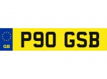 Cherished Plate P90 GSB For Sale