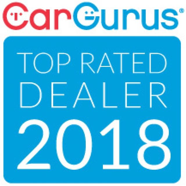 CAR GURUS TOP RATED DEALER 2018