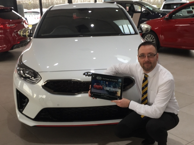 KIA SETS FIRST QUARTER RECORD AS SALES GROWTH CONTINUES
